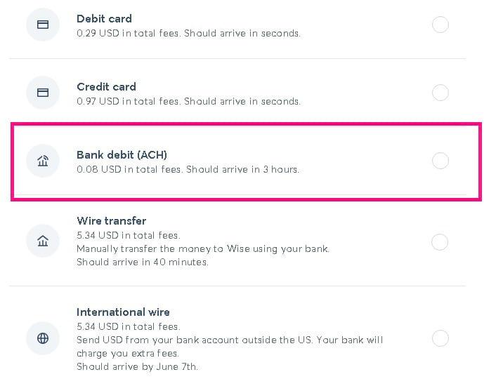 cexio wise ver datos bancarios en wise