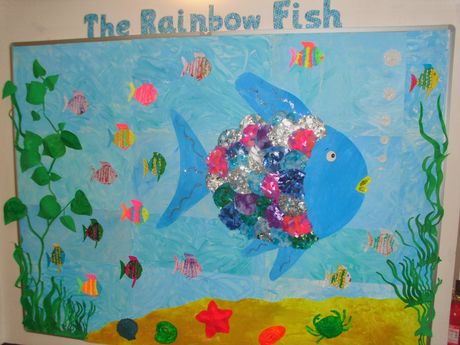 Reception Rainbow Fish Display