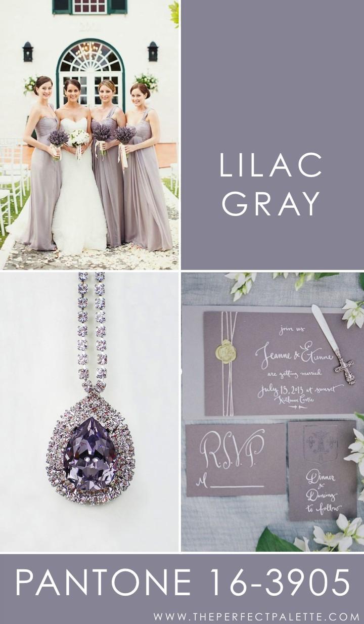 Lilac Gray - 16-3905