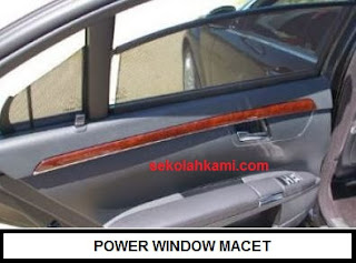 power window macet