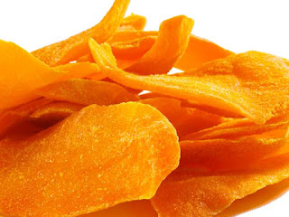 dried mangoes- perfect toddler snack for on the go!