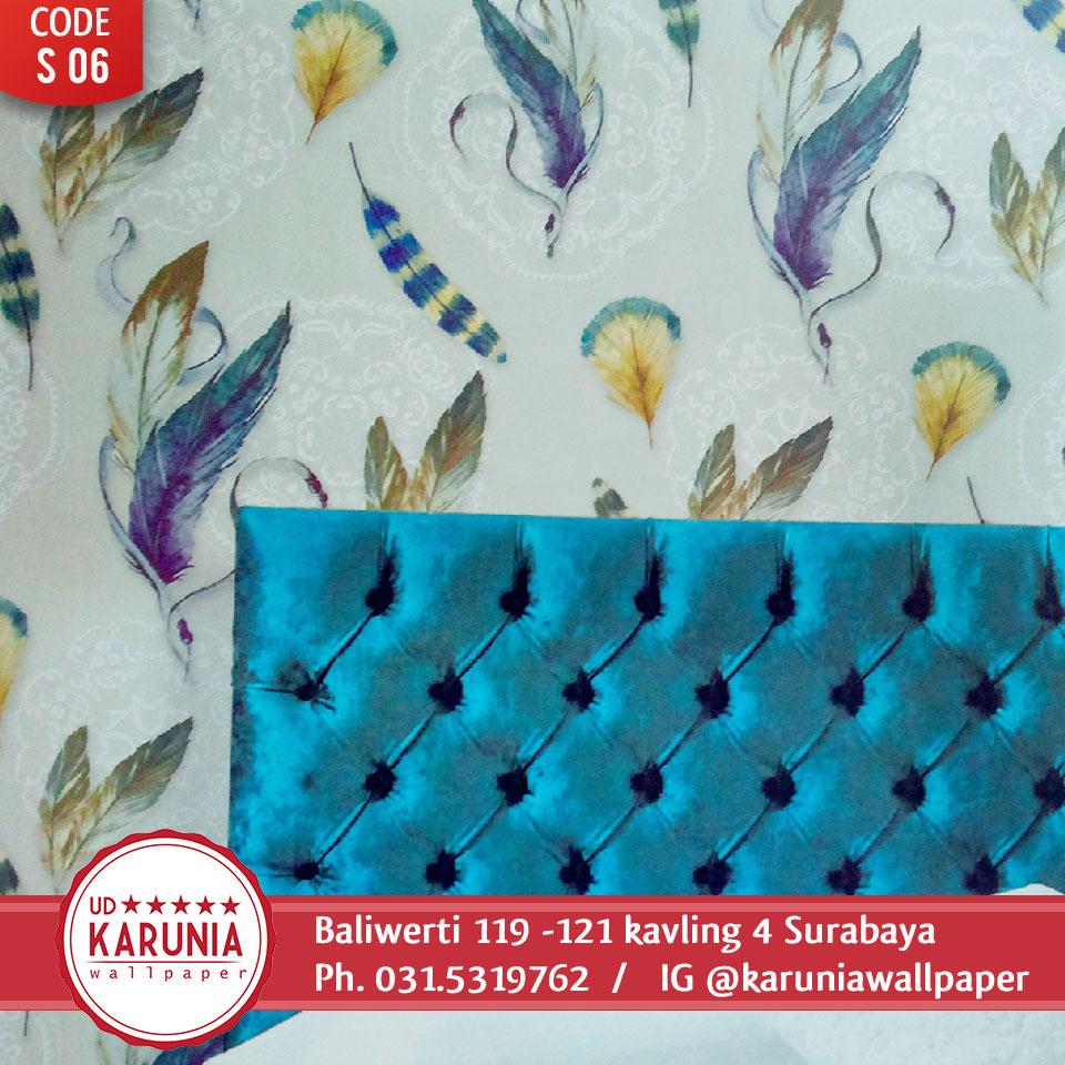 jual wallpaper warna warni surabaya
