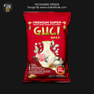 Jasa desain kemasan beras