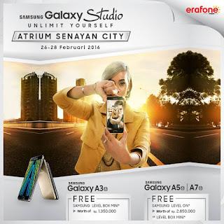 Promo Samsung Galaxy A Series 2016 di Samsung Galaxy Studio Atrium Senayan City