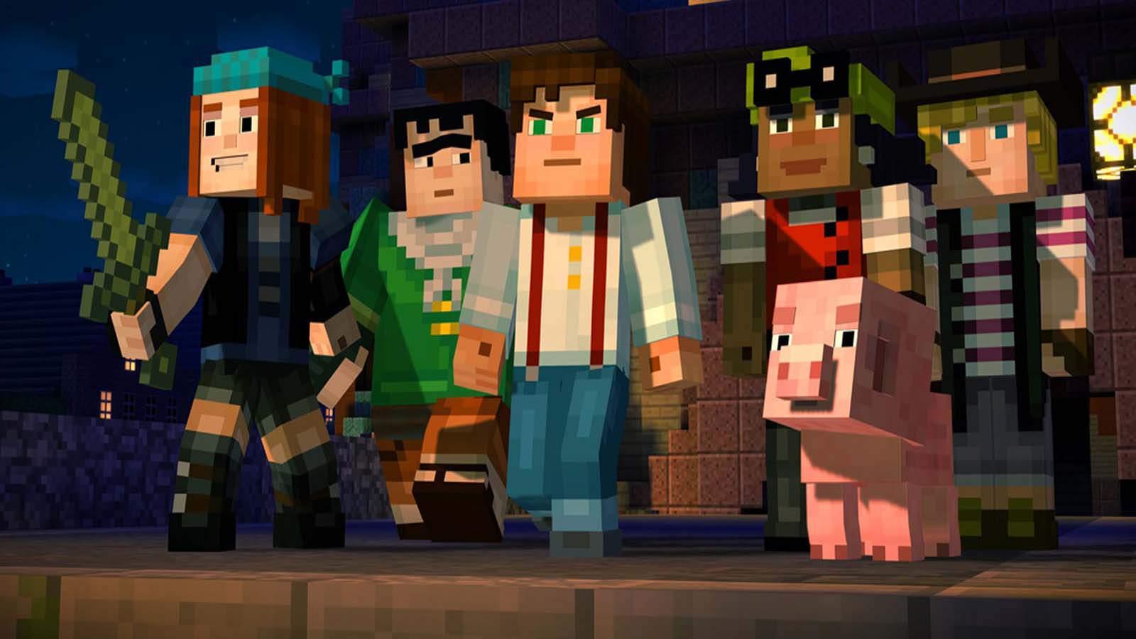 تحميل لعبة Minecraft Story Mode مضغوطة برابط واحد مباشر كاملة مجانا