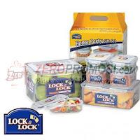 Lock & Lock Plastic Container 7P Set HPL827V7