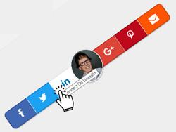 Contact Bar Gadget for Blogger