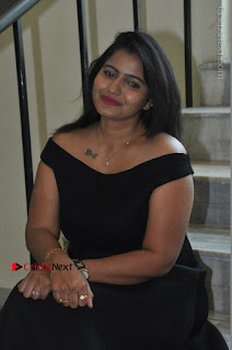 Telugu Actress Swathi Reddy Latest Stills in Black Gown  0073.JPG