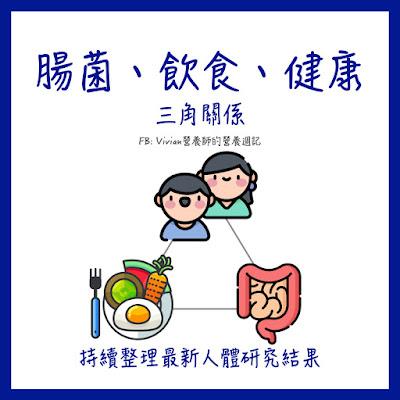 台灣營養師Vivian【持續更新中】腸道菌正操控著你!腸道菌對人體健康影響