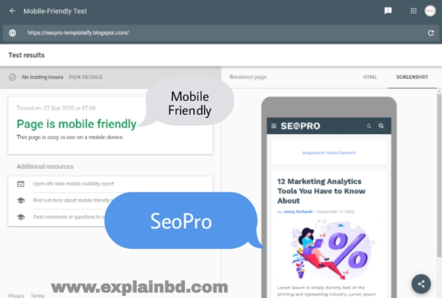 seo optimized blogger templates 2021, Mobile friendly blogger template