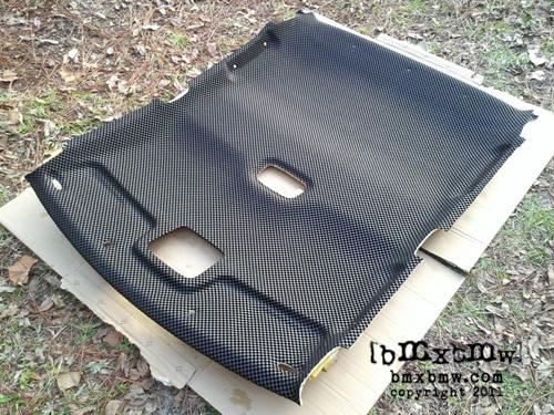 Modifications By Bmxbmw Mazda Protege Fabric Headliner A