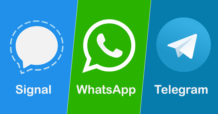Secure Messaging Apps Zero-Day Exploits