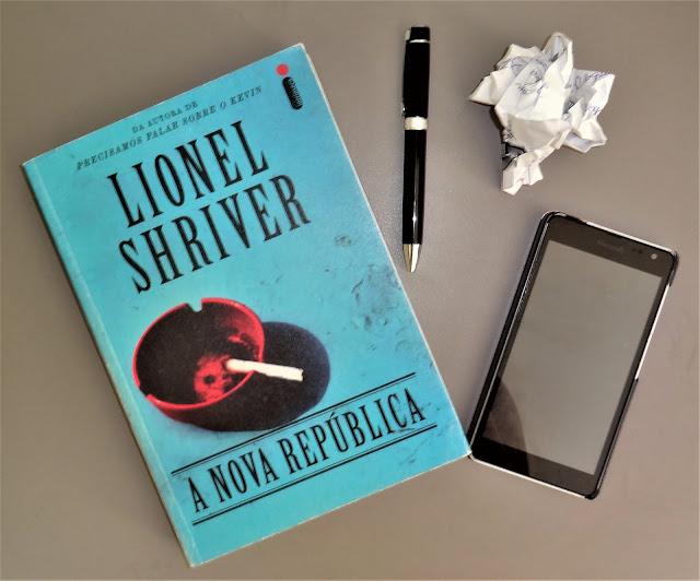 Livro A Nova República de Lionel Shriver