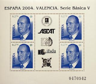EXPOSICIÓN MUNDIAL DE FILATELIA, VALENCIA 2004, SERIE BÁSICA
