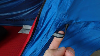 Anchorage Loop in Mammut Bivy Tent