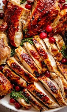 Turkey Breasts with Garlic Recipe