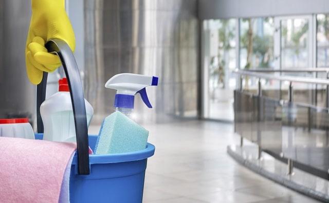 office deep clean sterilize workplace sanitize work space
