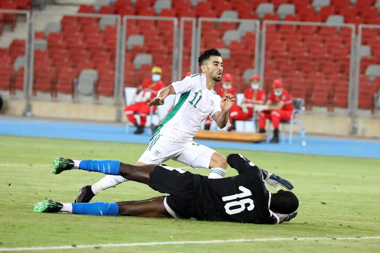 المنتخب الجزائري للمحليين يفوز وديا على نظيره الليبيري