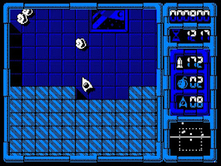 Afteroids - Amstrad CPC