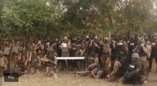 Video: Sepan que ahora ganen o pierdan, desde ahora son contrarios del CJNG dice a candidatos vocero a las ordenes del Mencho y rodeado de mas de 30 Sicarios