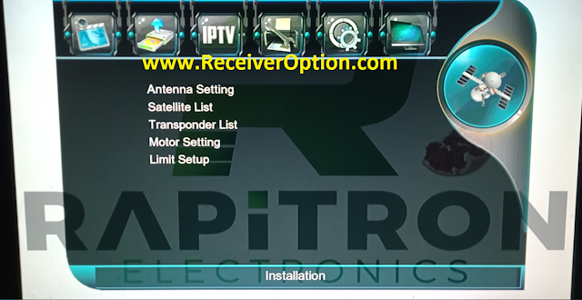 RAPITRON HELOIS 1507G 1G 8M NEW SOFTWARE WITH TNT SAT ASTRA 19 EMU