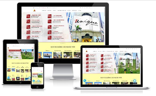 template blogspot quảng cáo responsive