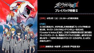 """Anime: Nuevo especial de """"DARLING in the FRANXX"""" para el 2 de junio"""