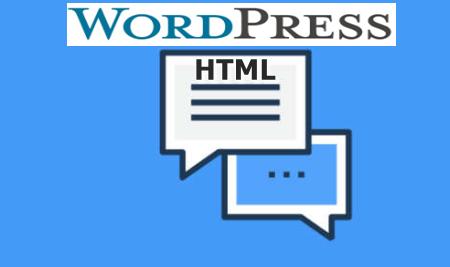 Cara Menonaktifkan HTML Komentar WordPress