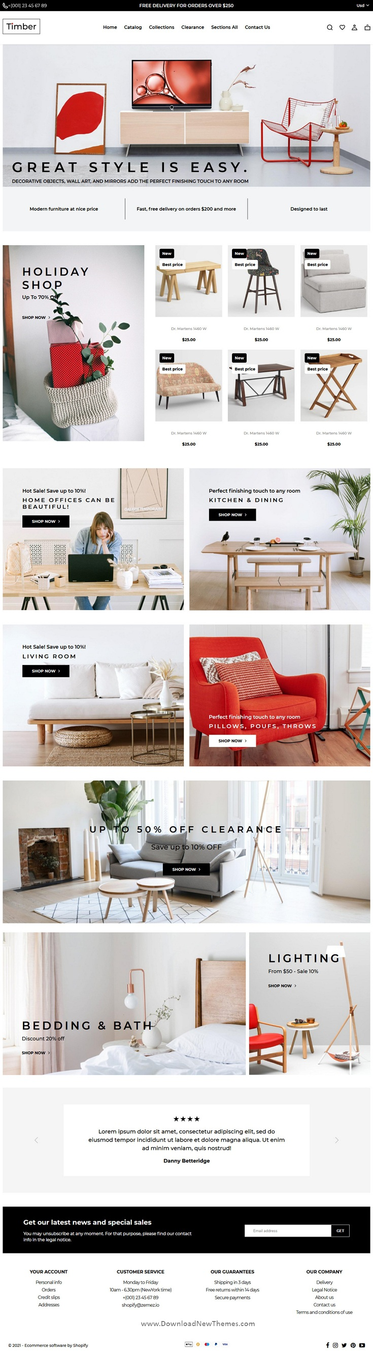 Shopify Themes Furniture Store