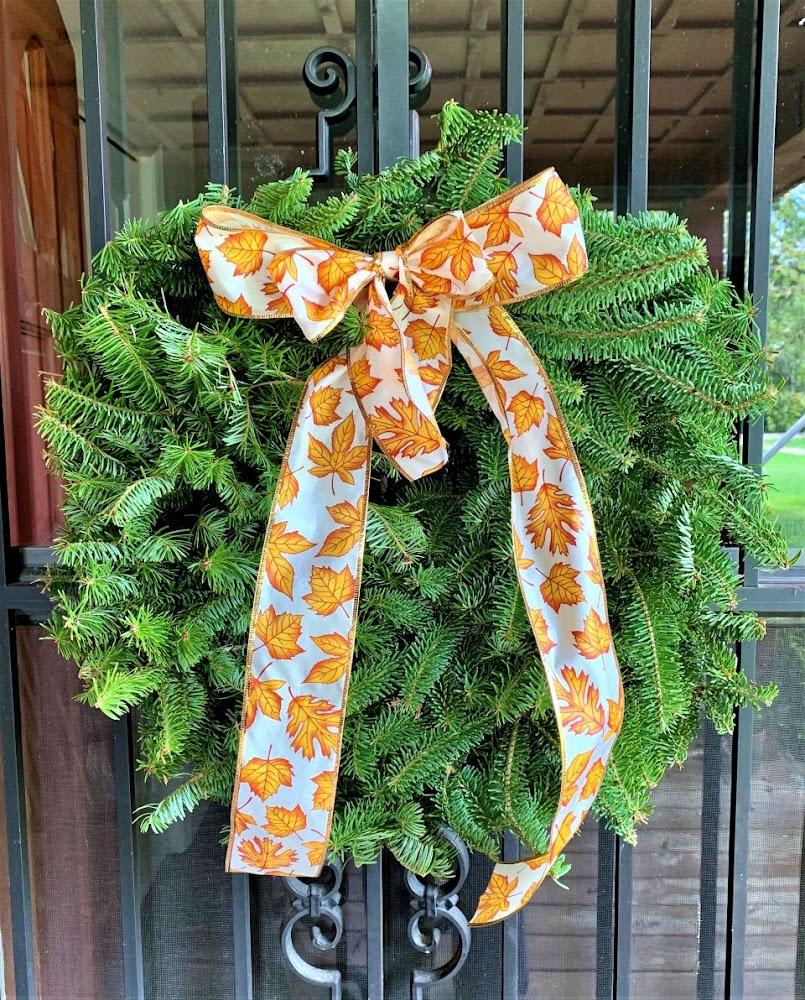 Fall Balsam Wreath