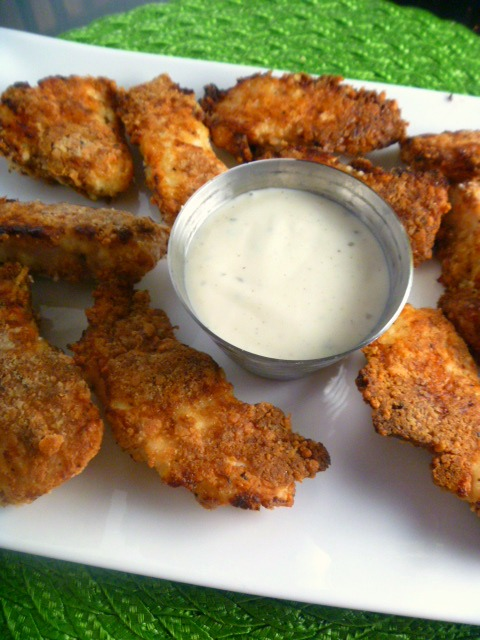 Garlic and Parmesan Crispy Oven Fried Chicken:  This recipe produces the crispiest oven-fried chicken you will ever make, straight from the oven. - Slice of Southern
