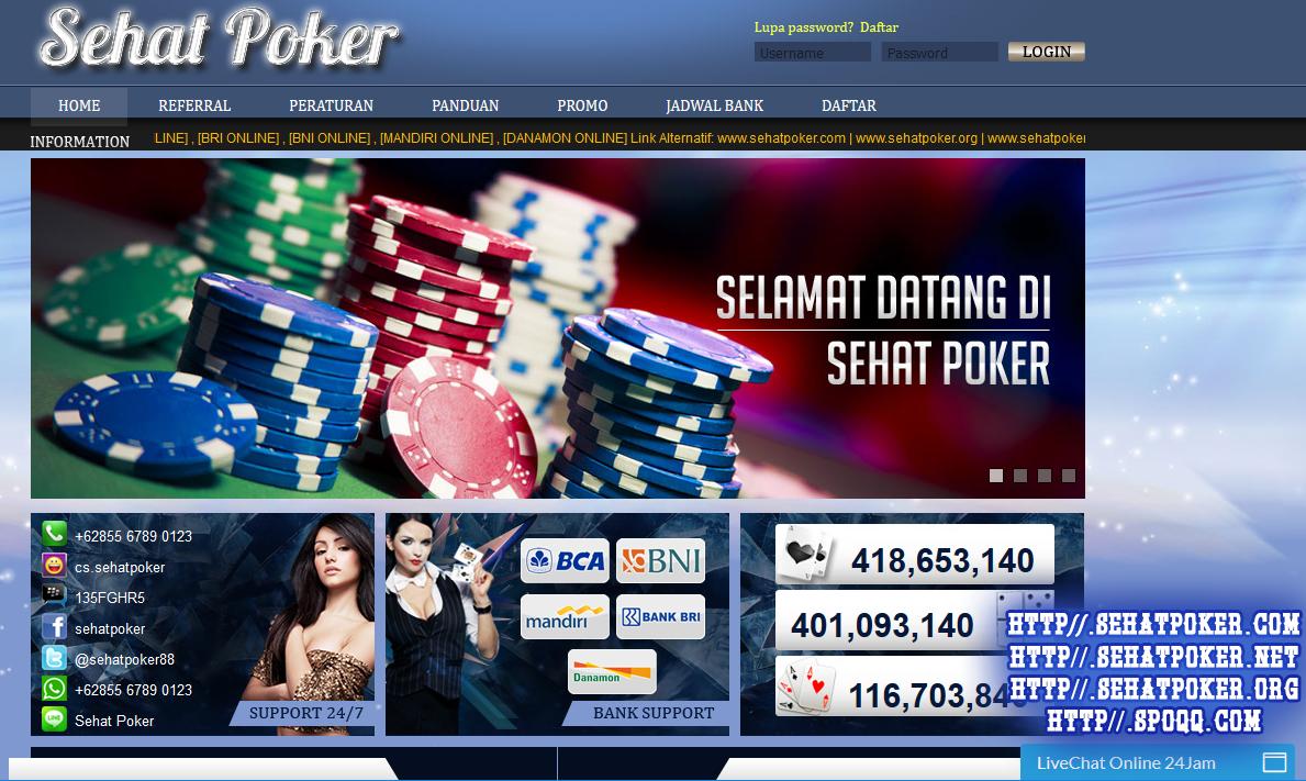 SehatPoker.com Agen Poker | Agen Poker Online | Agen Poker