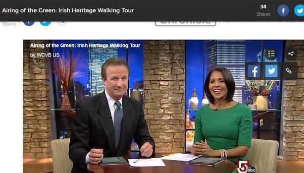 irish massachusetts chronicle airs segment on boston s irish
