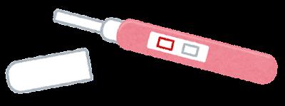 妊娠検査薬のイラスト(検査前)