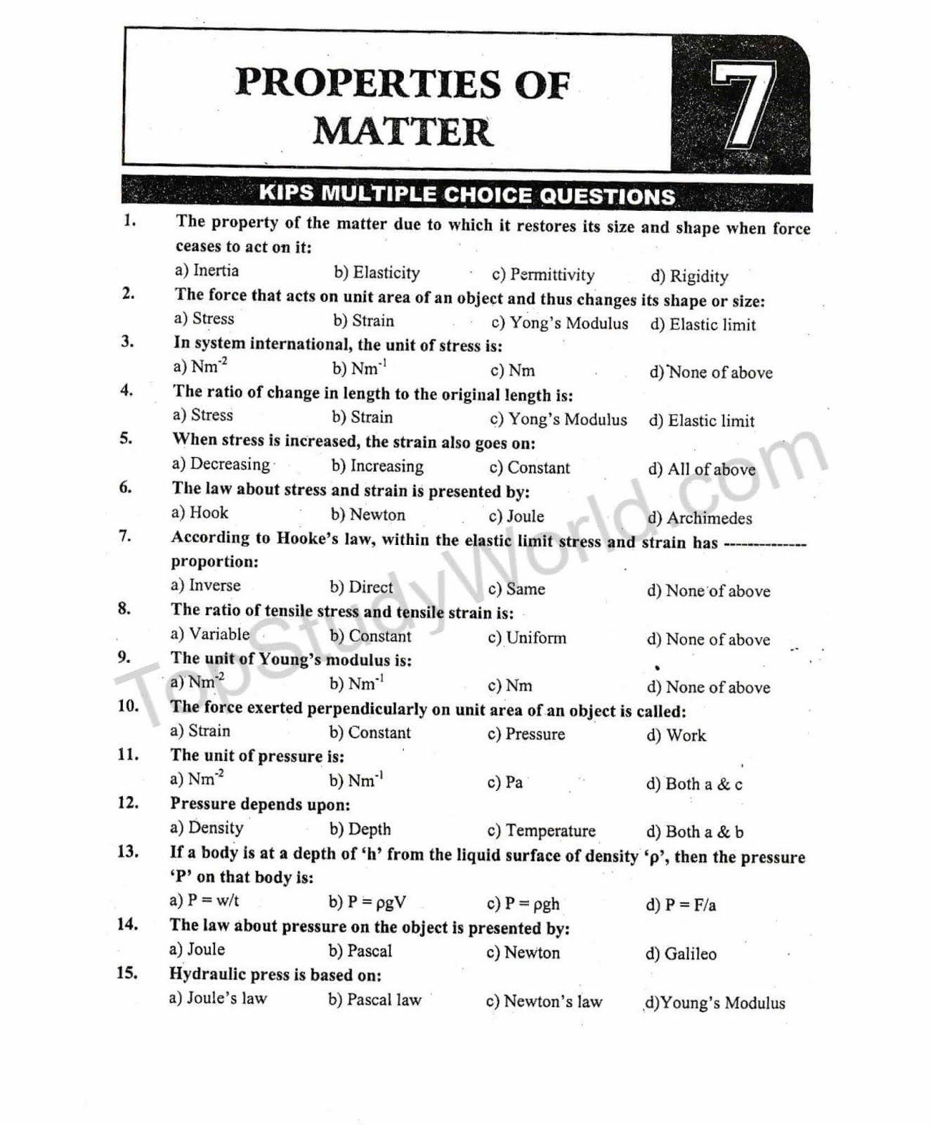 CLASS 10 PHYSICS NOTES PDF DOWNLOAD » Pauls PDF