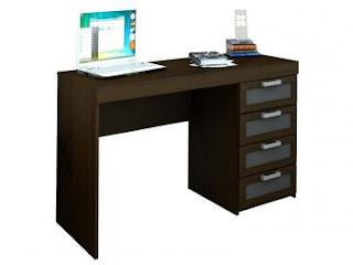 Promoção Escrivaninha Mesa para Computador 4 Gavetas