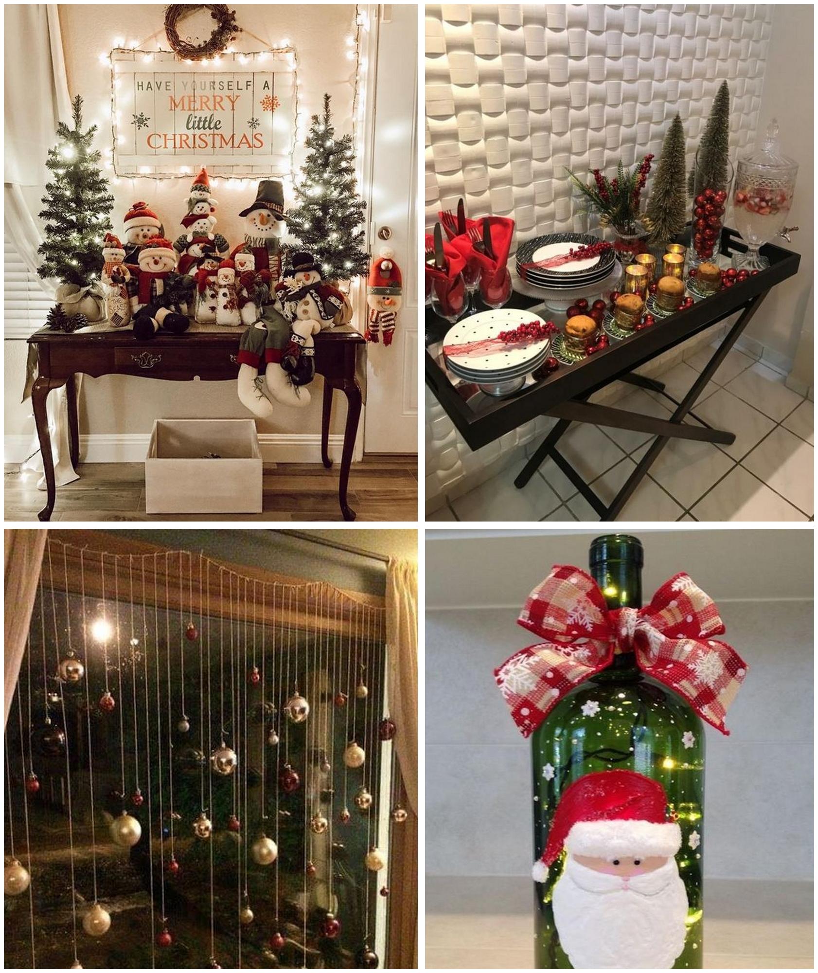 como decorar a casa no natal