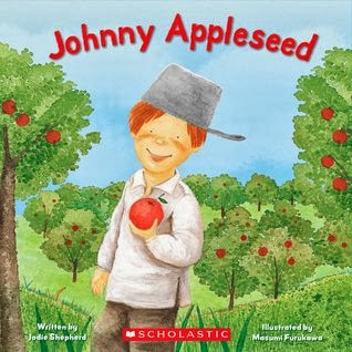 Image result for johnny appleseed read aloud scholastic shepard