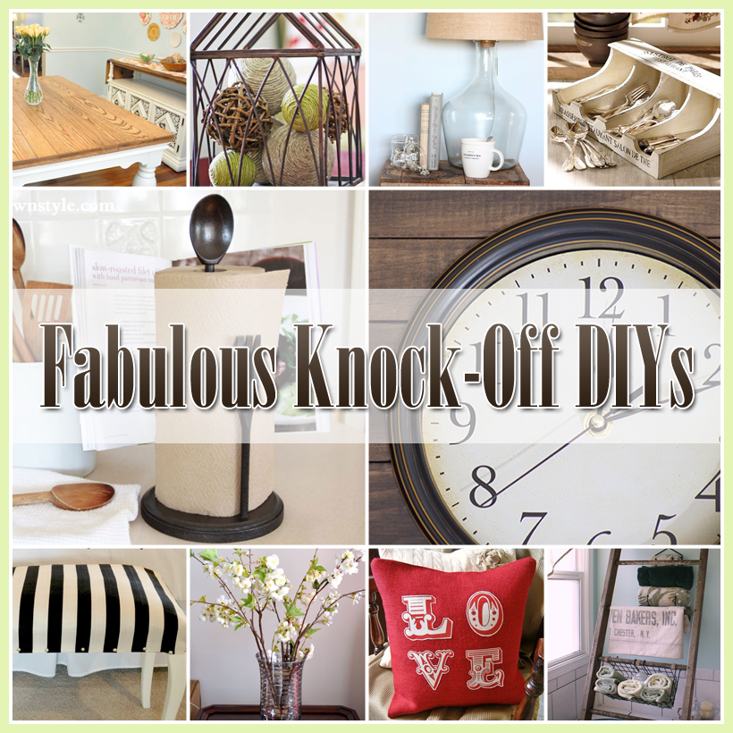 20 Fabulous Pottery Barn Knock Offs That You Are Going To Want Create