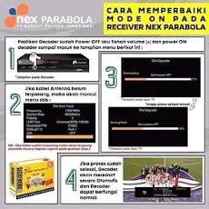 Mode On Nex Parabola Ini Solusinya