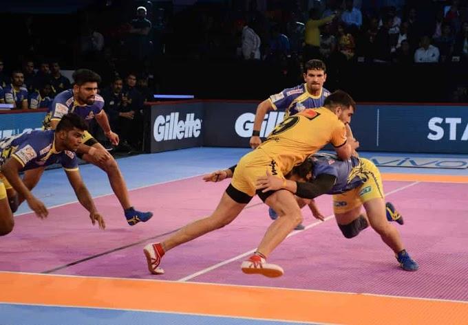 vivo pro kabaddi 2019: Gachibowli Indoor Stadium, Telugu Titans vs Tamil Thalaivas- Match Preview, Predicted 7 and Dream11 Kabaddi Prediction