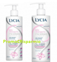Logo Diventa tester Latte Detergente Micellare Lycia