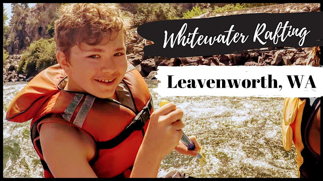 Whitewater Rafting on the Wenatchee River in Leavenworth, WA