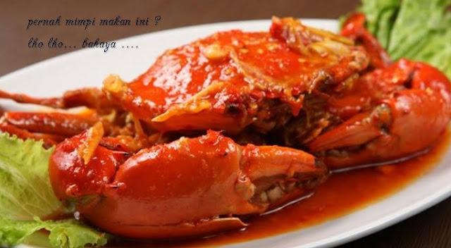 arti mimpi makan kepiting enak