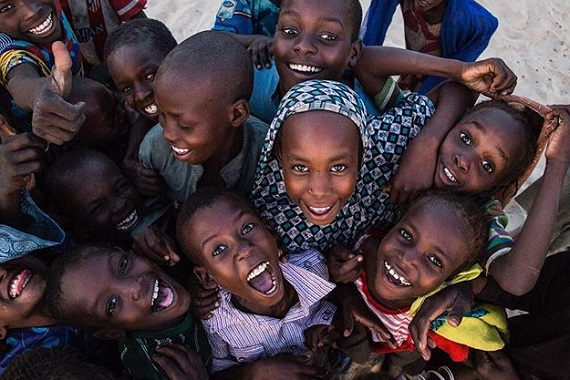 travel photography, kids in Congo by Vincent Tremeau
