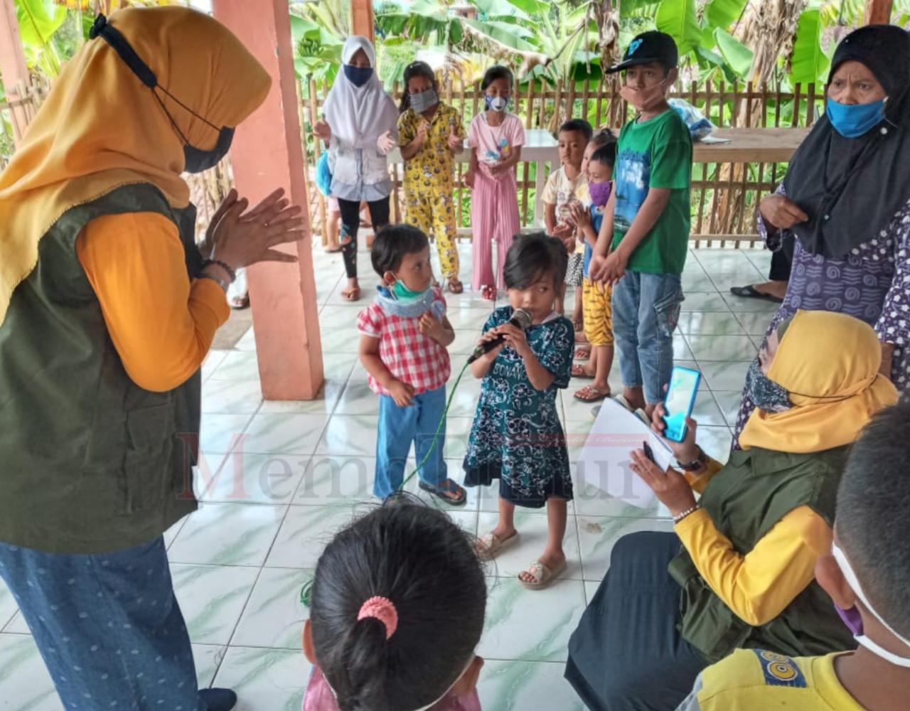 PPT-PPA Lumajang Beri Trauma Healing pada Anak-anak Korban Gempa
