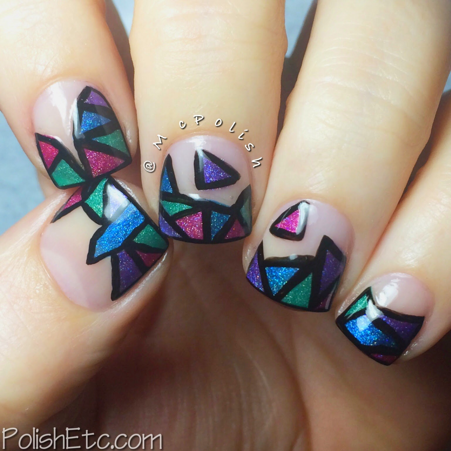 31 Day Nail Art Challenge - #31dc2014 - McPolish - GEOMETRIC