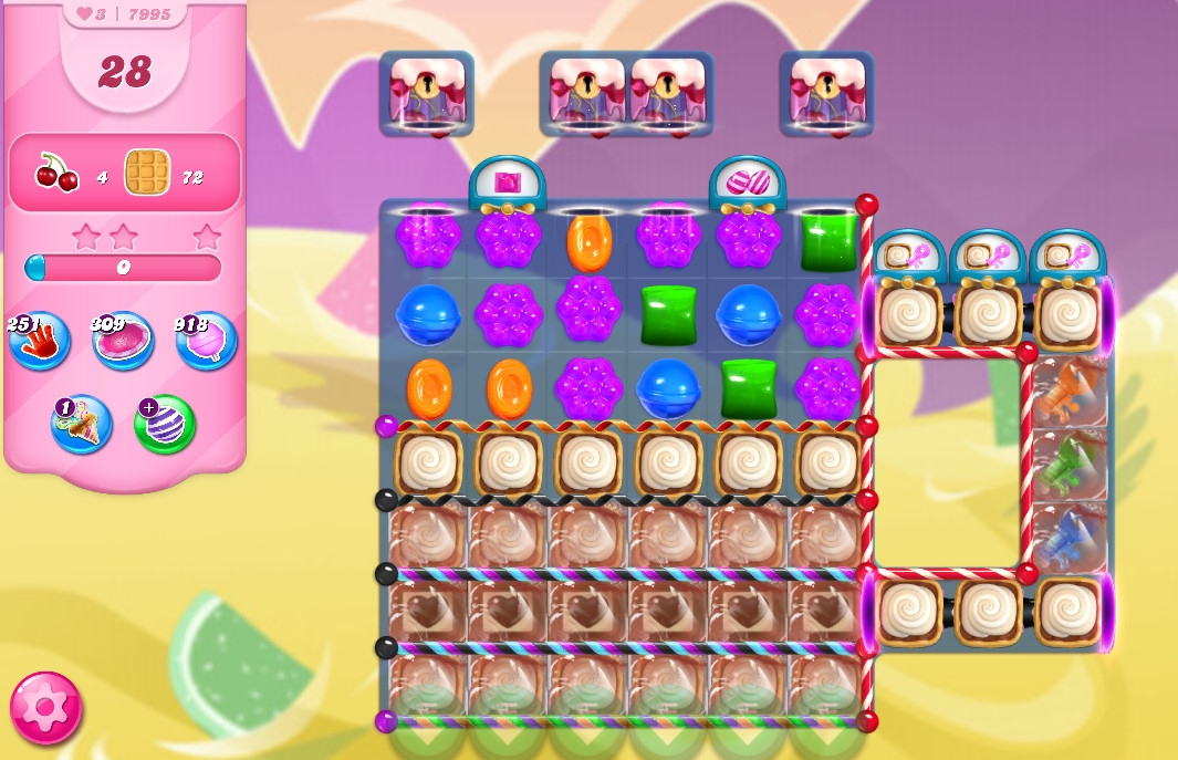 Candy Crush Saga level 7995
