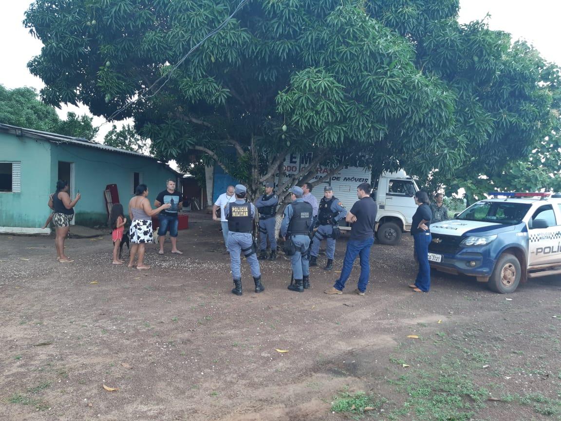FORQUILHA DO MANSO: Filha de vereador é presa por desacato a policiais durante ação de reintegração de posse