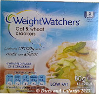 Weight Watchers Oat & Wheat Crackers Box